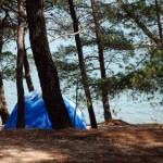 Zelten auf Camping Tasalera