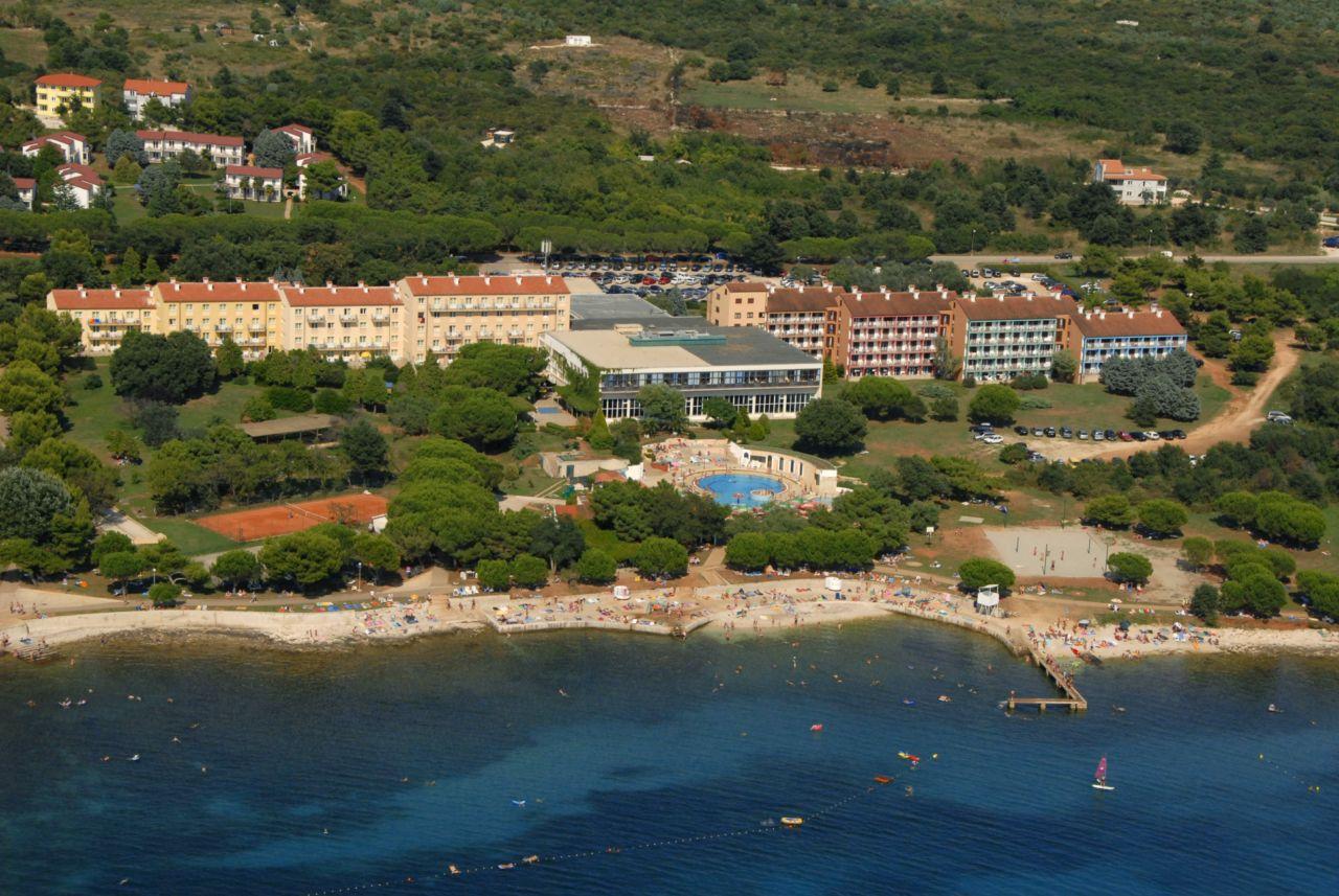 Hotel Belvedere Medulin Luftbild