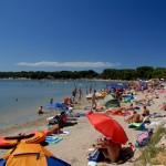 Camping Medulin beach
