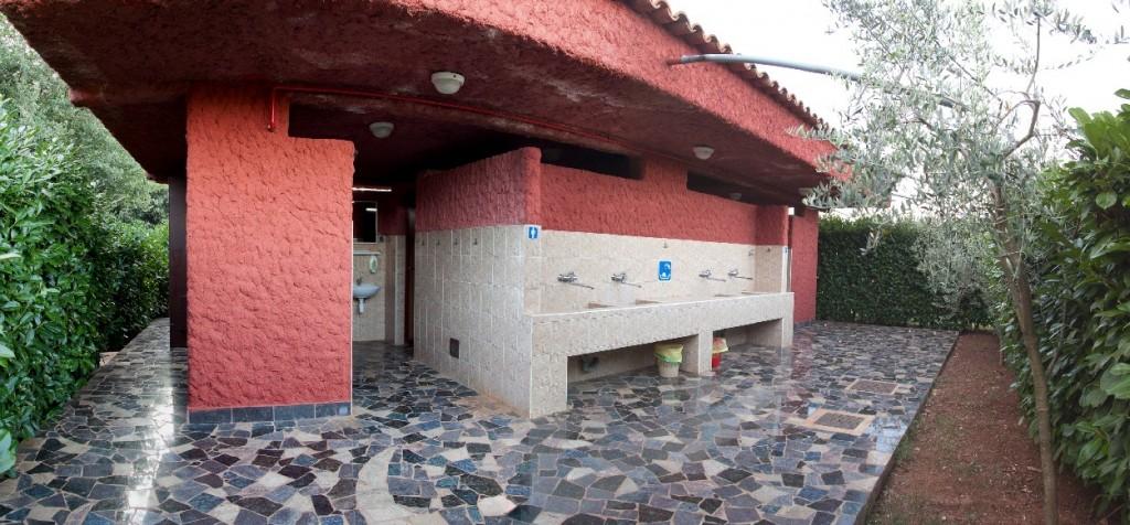 Toiletten gebäude